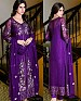 LATEST PURPLE DESIGNER LONG SLEEVE STRAIGHT SUIT @ 31% OFF Rs 1791.00 Only FREE Shipping + Extra Discount - Suit, Buy Suit Online, Georgette, Santoon, Buy Santoon,  online Sabse Sasta in India -  for  - 4345/20151029