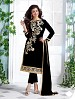 Heavy Black Chanderi Cotton Salwar Kameez @ 31% OFF Rs 1050.00 Only FREE Shipping + Extra Discount - Cotton Suit, Buy Cotton Suit Online, Semi-stitched Suit, Straight suit, Buy Straight suit,  online Sabse Sasta in India -  for  - 6346/20160210