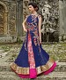 New Attractive Blue Anarkali Suit @ 31% OFF Rs 3460.00 Only FREE Shipping + Extra Discount - Net suit, Buy Net suit Online, Anarkali Salwar Suit, Semi Stiched Suit, Buy Semi Stiched Suit,  online Sabse Sasta in India -  for  - 8022/20160325