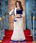 AQUA AND WHITE THREDWORK NYLON NET LEHENGA @ 31% OFF Rs 2100.00 Only FREE Shipping + Extra Discount - lehangas, Buy lehangas Online, Designer  lehangas, desiner net lehangas, Buy desiner net lehangas,  online Sabse Sasta in India - Lehengas for Women - 9864/20160520