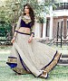 Off White Latest Arrival Designer Lehenga Choli @ 31% OFF Rs 1235.00 Only FREE Shipping + Extra Discount - Net Lehenga, Buy Net Lehenga Online, Designer Lehenga, Partywear Lehenga, Buy Partywear Lehenga,  online Sabse Sasta in India - Lehengas for Women - 9620/20160520