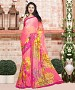 MULTY PRINTED GEORGETTE SAREE @ 31% OFF Rs 864.00 Only FREE Shipping + Extra Discount - Georgette Saree, Buy Georgette Saree Online, Designer Saree, Partywear saree, Buy Partywear saree,  online Sabse Sasta in India - Sarees for Women - 9497/20160520