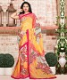 MULTY PRINTED GEORGETTE SAREE @ 31% OFF Rs 864.00 Only FREE Shipping + Extra Discount - Georgette Saree, Buy Georgette Saree Online, Designer Saree, Partywear saree, Buy Partywear saree,  online Sabse Sasta in India - Sarees for Women - 9509/20160520