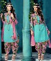 EMBROIDERED SKY BHAGALPURI SILK PATIYALA @ 31% OFF Rs 1359.00 Only FREE Shipping + Extra Discount - BHAGALPURI SILK, Buy BHAGALPURI SILK Online, Patiala Suit, Semi Stiched Suit, Buy Semi Stiched Suit,  online Sabse Sasta in India - Salwar Suit for Women - 9365/20160520