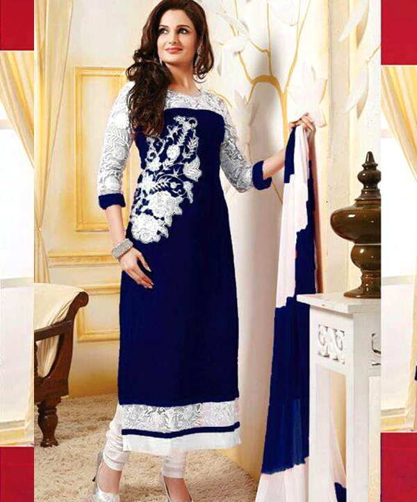 6d1f0b917 Bollywood Designer Straight Suit @ 84% OFF Rs 750.00 Only FREE ...