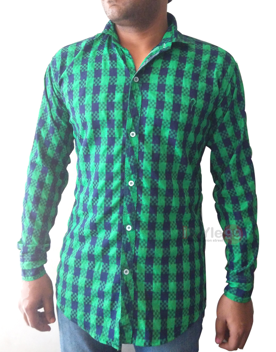 Men Slim Fit Casual Shirt @ 65% OFF Rs 463.00 Only FREE Shipping + ...