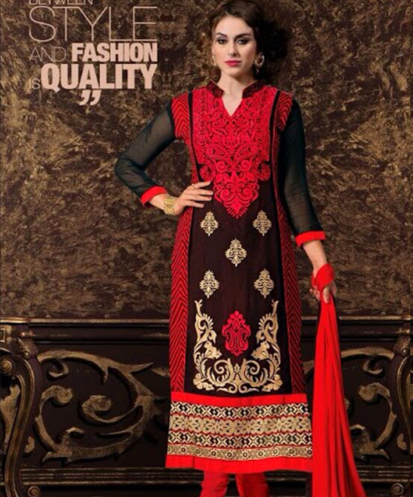 a1430cba7d Latest Designers Semi Stitched Salwar Suits @ 75% OFF Rs 2059.00 ...