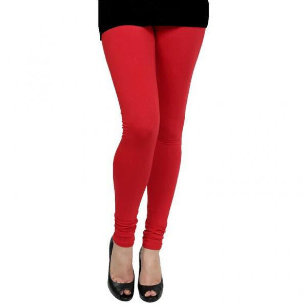 9ad0ad345d0b63 Cotton Red Color Leggings @ 31% OFF Rs 246.00 Only FREE Shipping + ...