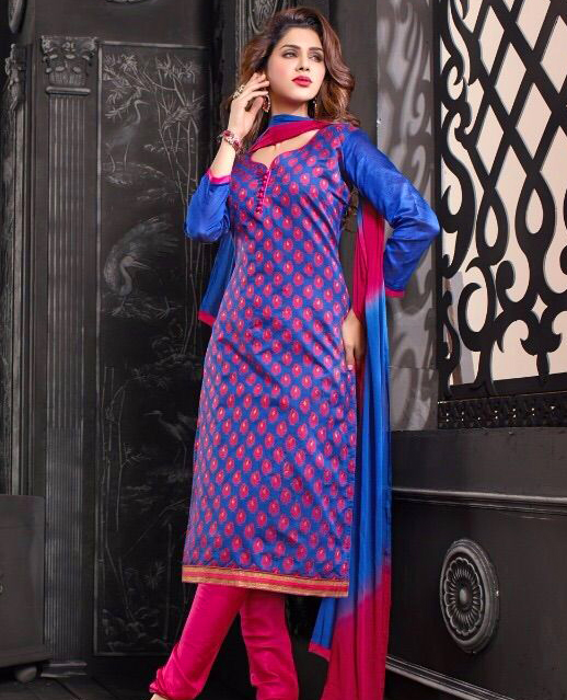 736034f656 Charming Look Banarasi jacquard Designer Suit @ 39% OFF Rs 572.00 ...
