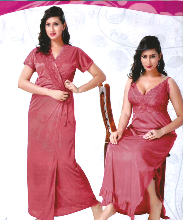 Womens Sleep Wear 2 PC Nighty on Chest Fun Bed Set   Rs1266.00. Sold Out 46d7a1f10