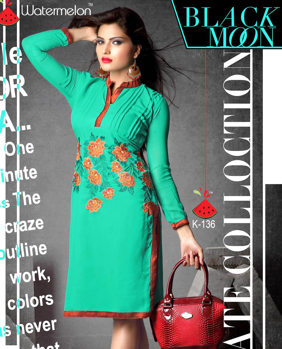 Indo Western Georgette Dress @ 79% OFF Rs 599.00 Only FREE Shipping ...