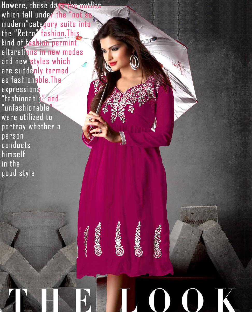 Indo Western Georgette Dress 79 Off Rs 59900 Only Free Shipping