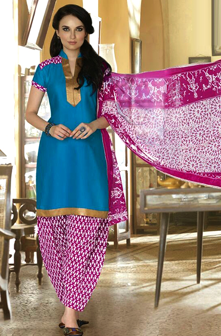 1981472011 Cotton Patiala Suit @ 84% OFF Rs 349.00 Only FREE Shipping + Extra ...