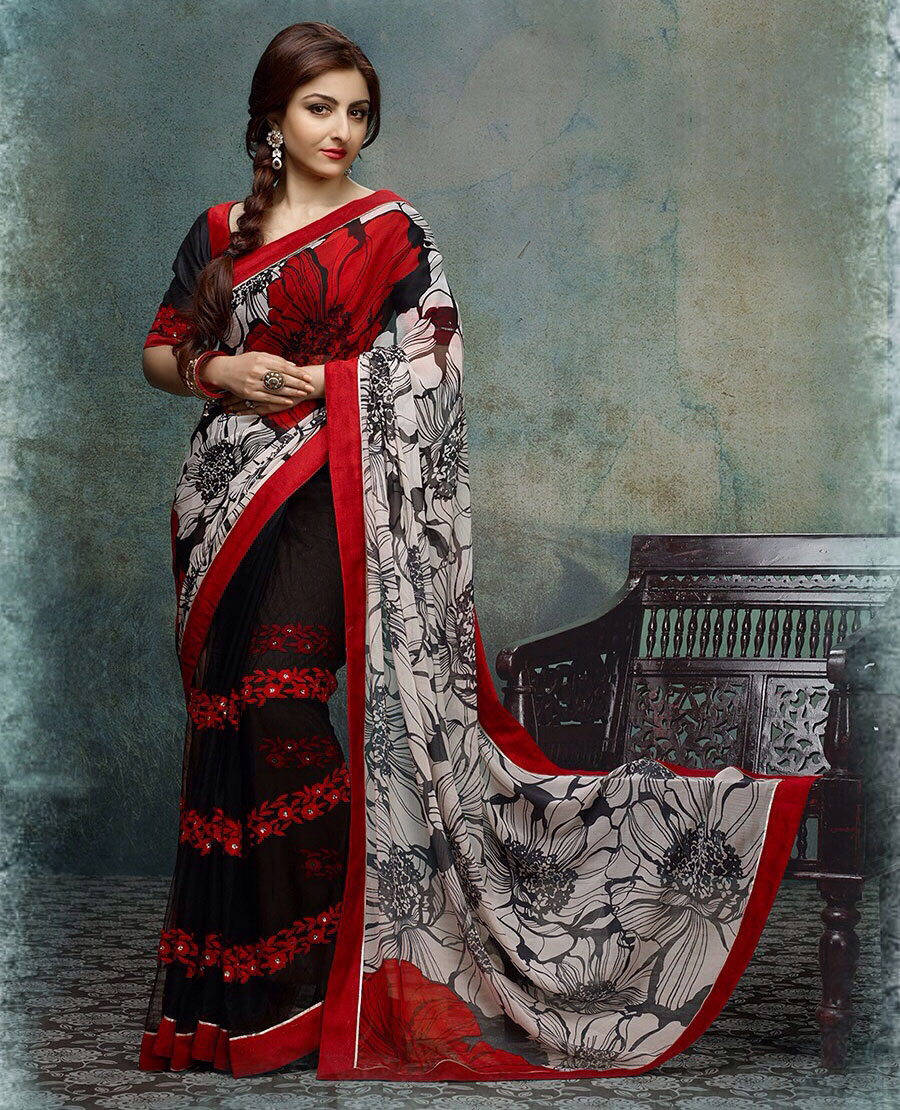 b8fca9bc4c Hiba Designer Sarees @ 53% OFF Rs 1700.00 Only FREE Shipping + Extra ...